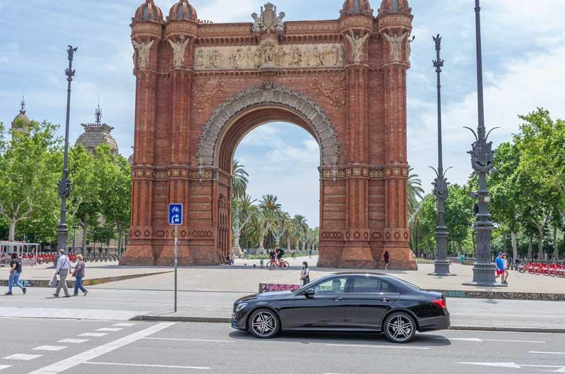 chofer privado Barcelona